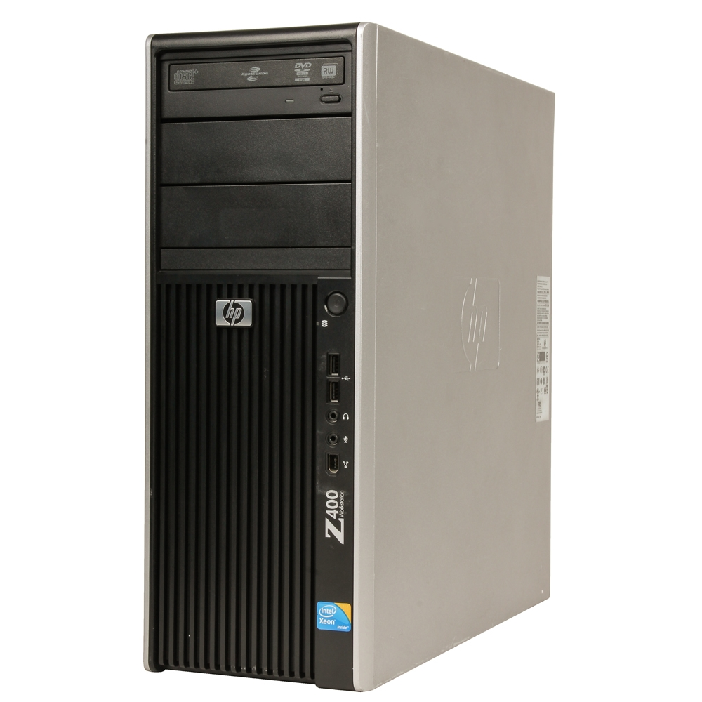 HP Z400 Workstation Desktop Computer Off Lease Refurbished